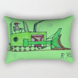 Moving Earth Rectangular Pillow