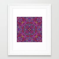 kaleidoscope Framed Art Prints featuring Kaleidoscope by David Zydd