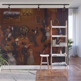 African-American Classical Masterpiece Harlem Dance Hall by Archibald Motley Wall Mural