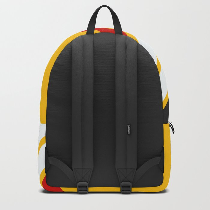 Oldschool Retro Stripes Backpack