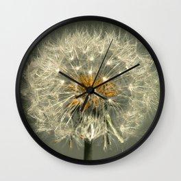 Dandelion photography Wall Clock