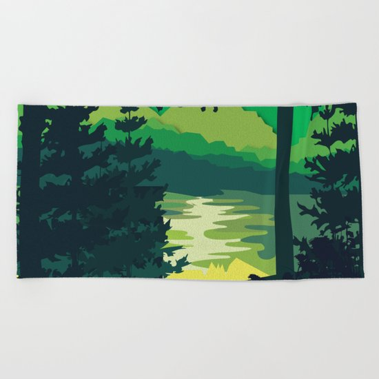 My Nature Collection No. 2 Beach Towel