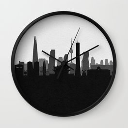 City Skylines: Seoul Wall Clock