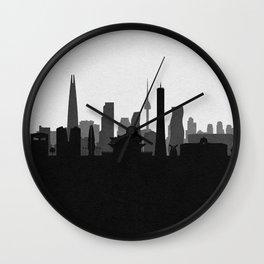 City Skylines: Seoul Wall Clock
