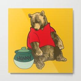 Pooh! Metal Print