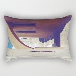 Santorini Walkway III Rectangular Pillow