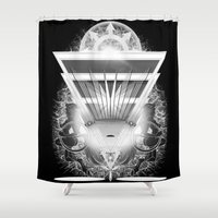 guardians Shower Curtains featuring Guardians by 5th Aeon