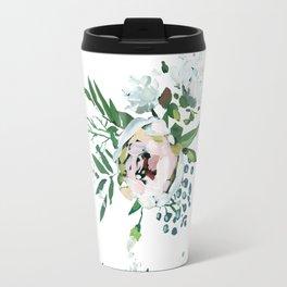 Blush Floral Travel Mug