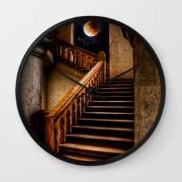 KTM Stairway Moon Wall Clock
