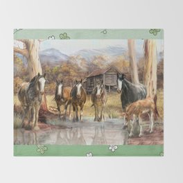 High Country Hideaway Throw Blanket