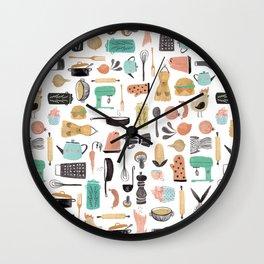 Kitchen Kitsch Wall Clock