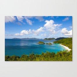 Trunk Bay Rainbow Canvas Print