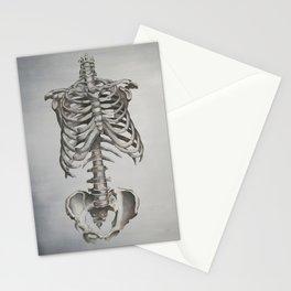Skeleton Study Stationery Cards