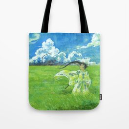 August - Indication of rain - Tote Bag