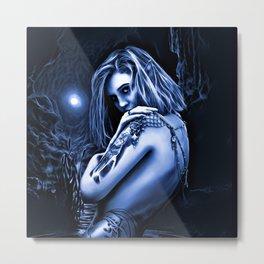 LADY OF THE LAKE Metal Print