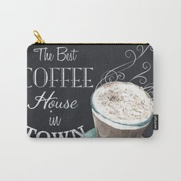 Retro Chalkboard Coffee 2 Carry-All Pouch