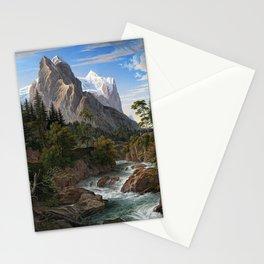Joseph Anton Koch Reichenbach Valley Mountains Stationery Cards