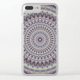 Mandala 460 Clear iPhone Case