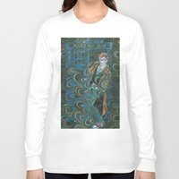 dr who Long Sleeve T-shirts featuring Dr. Who by Alex Bayliss