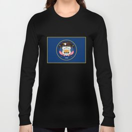 Utah State Flag - Authentic Version Long Sleeve T-shirt