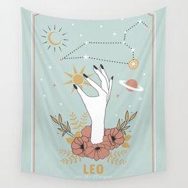 Leo Zodiac Series Wall Tapestry