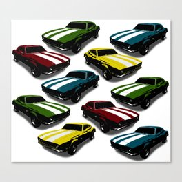 Cars Cars Cars Canvas Print