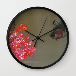 Fish in Window Wall Clock