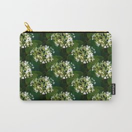 Hills-of-snow hydrangea pattern Carry-All Pouch