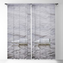 Message In A Bottle Blackout Curtain