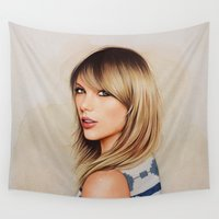 1989 Wall Tapestries featuring Taytay 1989 by The Art Of Dreams