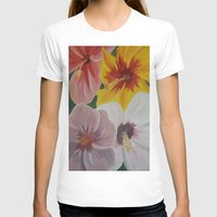 hibiscus T-shirts featuring Hibiscus by Lark Nouveau Studio
