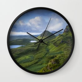 Up in the Clouds II Wall Clock