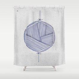Hexacircle 2 Shower Curtain