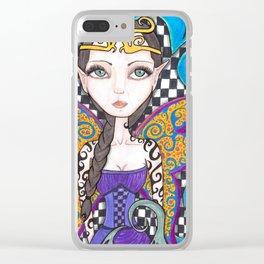 Fairy Tattoo Clear iPhone Case
