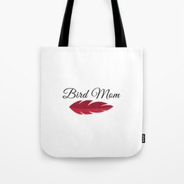 African Grey Parrot MOM Tote Bag