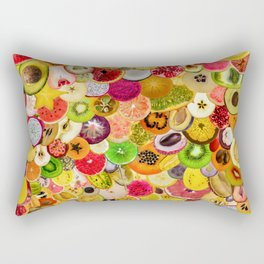 Fruit Madness (All The Fruits) Rectangular Pillow