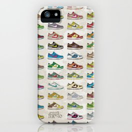 i love dunks iPhone Case