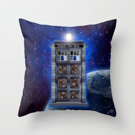 Steampunk time machine Phone booth iPhone 4 4s 5 5c 6, pillow case, mugs and tshirt Throw Pillow