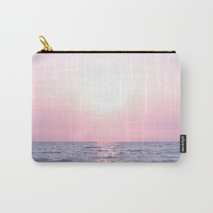 Ocean waves #pink Carry-All Pouch
