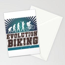 Evolution Biking Stationery Cards