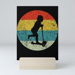 scoter vintage Mini Art Print