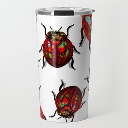 Agitated Lady Beetles Travel Mug