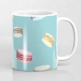Macaroon pattern (Blue) Coffee Mug