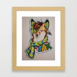 Jax Framed Art Print