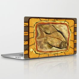 Fossil fish Laptop & iPad Skin