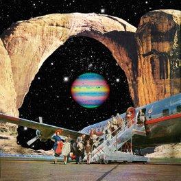 Metal Travel Mug - Destined to Destination - Eugenia Loli
