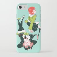 dangan ronpa iPhone & iPod Cases featuring technologic by Cori Walters