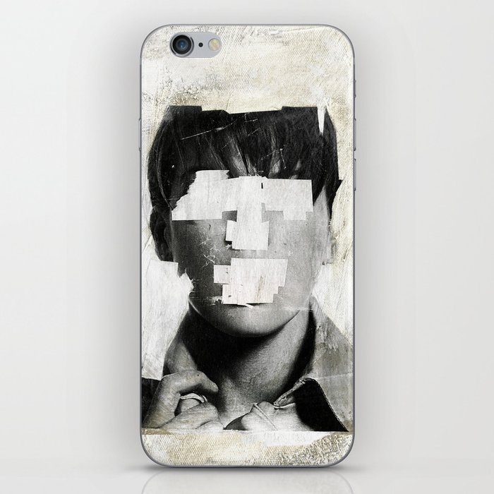 Faceless   number 02 iPhone Skin
