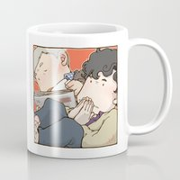 221b Mugs featuring 221B by Negative Dragon