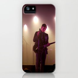 Paul Banks / Interpol at Terminal 5 New York City iPhone Case